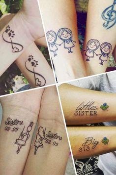 Tatouage de soeurs : 100 idées de tatouages à partager : Album photo - aufeminin