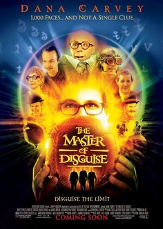 The Master of Disguise (2002) movie poster some bad movie moments but love Dana Harvey's impressions.