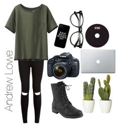 """Inspired by Andrew Lowe"" by purpleponycorn ❤ liked on Polyvore"