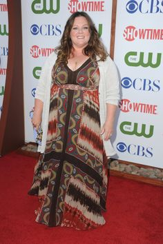 Melissa McCarthy. She's getting there, but I'd like to see her clothes follow/drape to her body more.