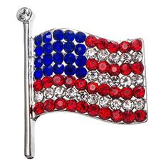 PammyJ Red White and Blue American Flag Brooch Pin PammyJ Necklace http://www.amazon.com/dp/B00THOPX4I/ref=cm_sw_r_pi_dp_A4BCvb1W3DNJC