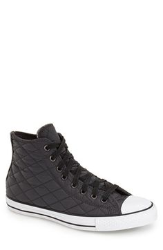 Converse Chuck Taylor® All Star® Quilted High Top Sneaker (Men) available at #Nordstrom