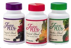 Juice Plus! Fruits and vegetables in a capsule!