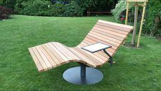 Sonnenliege SunDivan Moderne Pools, Backyard Gazebo, Garden Chairs, Outdoor Furniture, Outdoor Decor, Sun Lounger, Home Decor, Gardens, Home And Garden