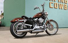 Authentic '70s chopper attitude meets modern power and premium H-D styling in this bare-bones, lowrider-inspired radical custom. | 2014 Harley-Davidson Seventy-Two