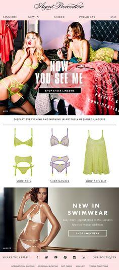 Agent Provocateur | Shop sheer lingerie online at agentprovocateur.com