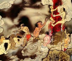 Image result for buddhist hell