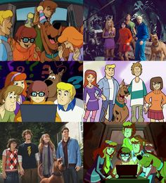 On the left: things that were acceptable and can reasonably be held as canon. On the right: ABOMINATIONS TO THE FRANCHISE WHICH MUST NEVER BE SPOKEN OF. This has been a Scooby PSA. Thank you.