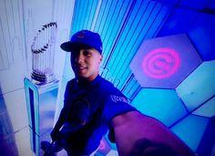 Javy Baez #23 Chicago Cubs 2016 World Champions Go Cubs Go Chicago Cubs, Mlb, Cubs Win, Go Cubs Go, Cubs Baseball, Bear Cubs, Bears, Baseball Season, National League
