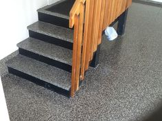 Classy! Garage Floor Coatings, Concrete, Stairs, Design Ideas, Classy, Flooring, Canning, Home Decor, Stairway