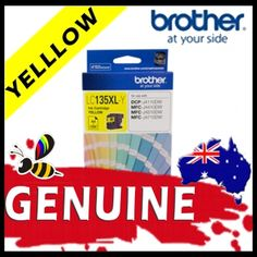 Brother LC135 Yellow High Yield Ink