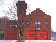 fire station converted into home - Google Search