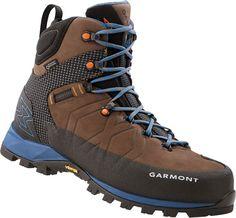 582c6ba671 Dark Brown/Blue Backpacking Boots, Hiking Boots, Outdoor Gear, Dark Brown,