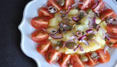 Insalata di patate alla mediterranea