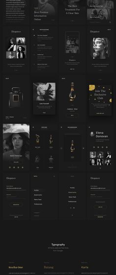 Elegance is a website & mobile app UI kit designed for your next luxurious fashion website or mobile application project. Includes 28 Mobile screen templates, 5 web screen templates, free google fonts and is expertly crafted for Sketch. Kick start your project using Elegance and make your ideas come to life! Elegance is modern, simple, very clean, and at the same time it brings a great experience to the user.