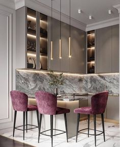 Luxury Kitchen Design, Kitchen Room Design, Home Room Design, Home Design Decor, Home Decor Kitchen, Interior Design Living Room, Enterier Design, Warm Kitchen, Design Ideas