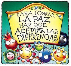 〽️Para lograr La Paz...hay que aceptar las diferencias..