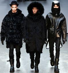 Hugo Puvion, Jin Da Chuan & ? | KTZ Fall/Winter 2015-2016 | London Fashion Week | Photographed by Kim Weston Arnold
