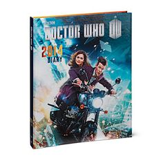 ThinkGeek :: Doctor Who 2014 Day Planner. 8D FUUUUN. And on sale right now for $4.99.... Tempting...
