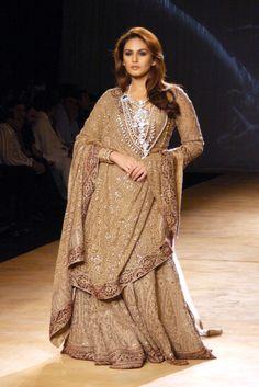 Huma Qureshi - For designers Rimple and Harpreet Narula