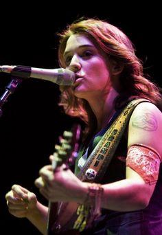 Gorgeous!  Brandi Carlile.  :)