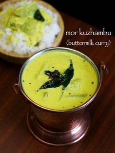 yogurt curry mor kulambu recipe