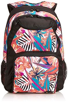 girls school bag - great for secondary school - ROXY Womens Shadow Swell Backpack ERJBP03004 Rosie Posie Floral Roxy £34.99 FREE UK delivery at Purple Fairy Princess back to school http://www.amazon.co.uk/dp/B00LB67BZY/ref=cm_sw_r_pi_dp_B6hZvb1GFTTBB