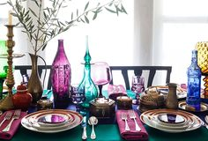 14 Gorgeous Holiday Table Settings - Our Style Blog - One Kings Lane