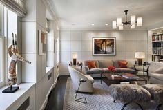 New Home Interior Design: Robert A. Stern - Apartment on Park Avenue New York Living Room Interior, Home Living Room, Living Room Designs, Living Spaces, Apartment Living, Living Area, Best Interior, Home Interior, Luxury Interior