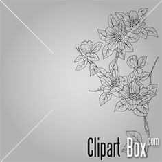 CLIPART FLOWERS BACKGROUND