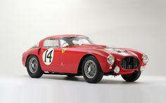 1953 Ferrari 340/375 MM Berlinetta 'Competizione' by Pininfarina - $12.81 million (2013)
