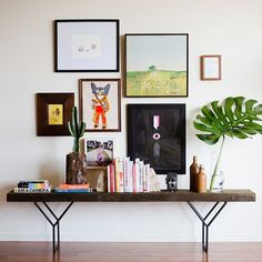 How to Decorate a Blank Wall | domino magazine