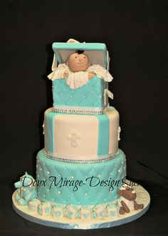 Christening cake , Gâteau de baptême