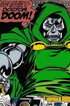 78 Best Doctor Doom Images Comic Books Art Comics Illustrations