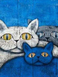 cats. artist not given