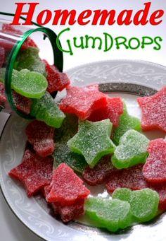 Homemade GumDrops {Gift Idea}
