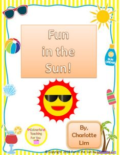 This Fun in the Sun package is a great activity for the summer month and can be incorporated into the curriculum in a variety of fun ways. There are more than enough brain breaks to last you every day of the month of June. If you want further details in regards to the answers, please feel free to email me at colourfulteach@gmail.com.
