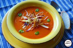 Supa crema de legume coapte Supe, Thai Red Curry, Vegetarian Recipes, Pudding, Ethnic Recipes, Desserts, Food, Tailgate Desserts, Deserts