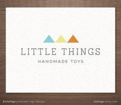 Premade Kids Toy Logo Design  Modern geometic logo   by Otologo
