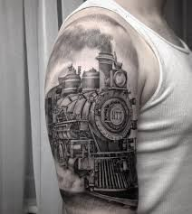 steam train tattoo watercolor tattoos pinterest tren. Black Bedroom Furniture Sets. Home Design Ideas