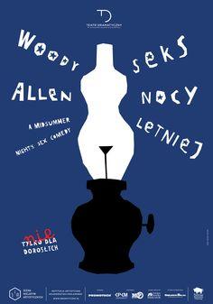 """""""Seks nocy letniej"""", Woody Allen, konsultacja artystyczna: Agnieszka Korytkowska-Mazur, premiera:  6 - 7 kwietnia 2013 r., więcej informacji: http://dramatyczny.pl/spektakl/seks-nocy-letniej/"""