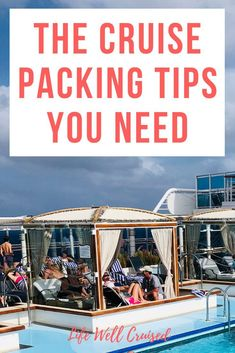 21 simple and easy cruise packing tips straight from the Cruise Pros! If you`re heading on a cruise, you`ll want to make sure that you're well prepared with everything that you need for your cruise vacation. #cruise #packingtips #cruisetips #cruisevacation