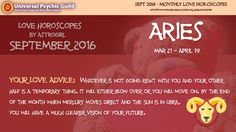 #Aries - SEPTEMBER #LOVEADVICE - Whatever is not going right with you and your other half is a temporary thing. it will either blow over or you will move on. by the end of the month when mercury moves direct and the sun is in libra, you will have a much clearer vision of your future.