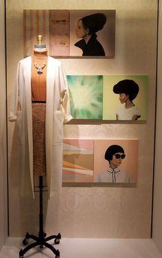 """TOMORROWLAND SHINJUKU ISETAN, Tokyo,Japan, """"Harmony"""", pinned by Ton van der Veer"""