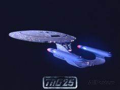 Star Trek: The Next Generation Starship USS Enterprise NCC-1701-D Print at AllPosters.com #giftideasforhim