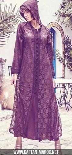 449a9a5101a7 Djellaba dentelle 2015, djellaba marocaine deux pièces.Djellaba chic pour  femme moderne, habit marocain avec capuche modèle djellaba fashion avec  caftan.