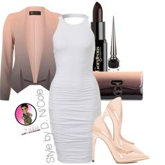 Untitled #2555 by stylebydnicole on Polyvore featuring polyvore fashion style Dorothy Perkins Dolce&Gabbana Christian Louboutin Gorgeous Cosmetics