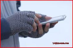 Crochet Tutorial: Freestyle Fingerless Gloves | YARNutopia by Nadia Fuad