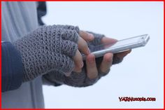 Crochet Tutorial: Freestyle Fingerless Gloves | YARNutopia by Nadia Fuad