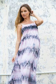 """""""Sixpence"""" maternity maxi dress Fillyboo - Boho inspired maternity clothes online, maternity dresses, maternity tops and maternity jeans."""
